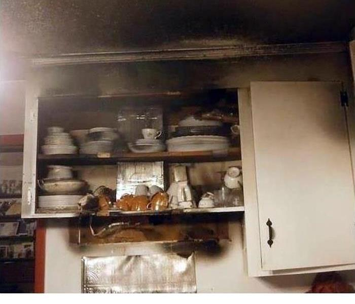 Smoke and Fire Damage in Local Vero Beach Home