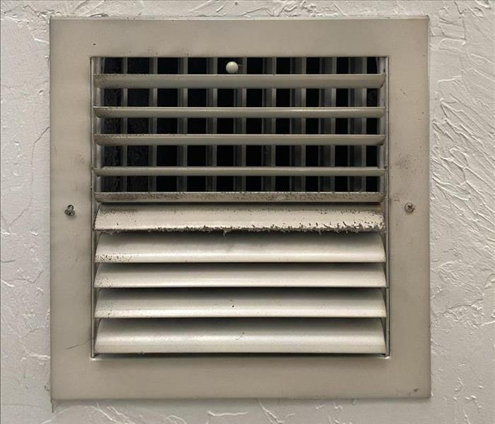 Dirty A/C Vent