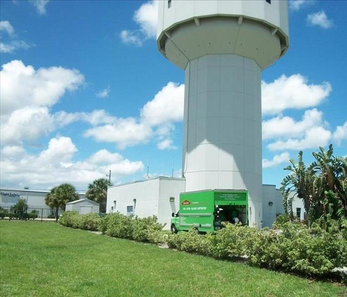 Commercial Water Intrusion At The Vero Beach Airport Tower