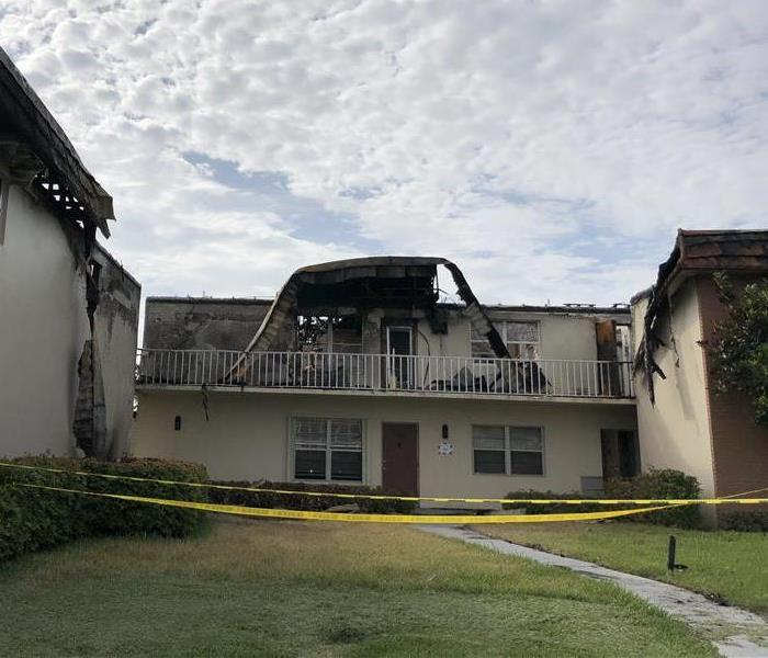 Fire Damage Returning Your Home To Pre-Fire Condition Is Doable For SERVPRO