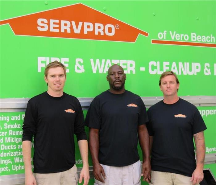Storm Damage When Storms or Floods hit Indian River County, SERVPRO is ready!