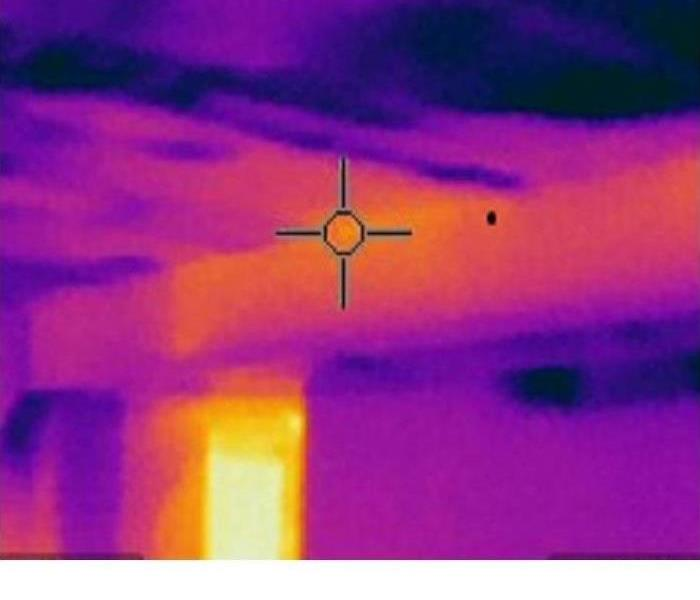 Water Damage Water Can Not Hide From Infrared Cameras