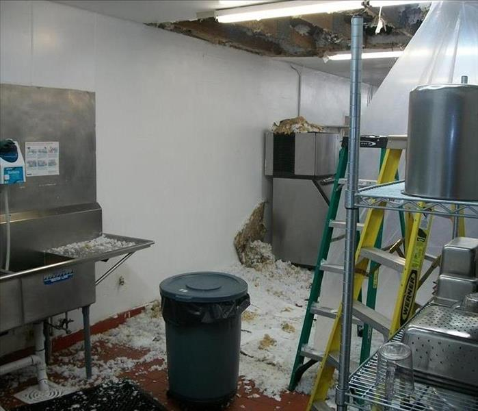 Commercial Water Damage Businesses Can Count On SERVPRO